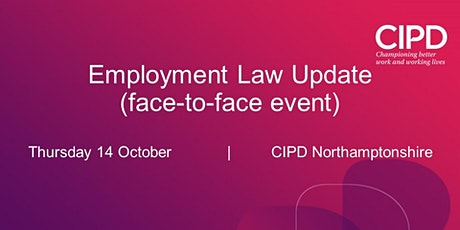 Employment Law Update (face-to-face event) tickets