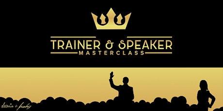 ♛ Trainer & Speaker Masterclass ♛ (Online-Tages-Seminar, 21.8.2021) Tickets