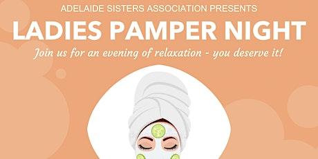 ASA Ladies Pamper Night tickets