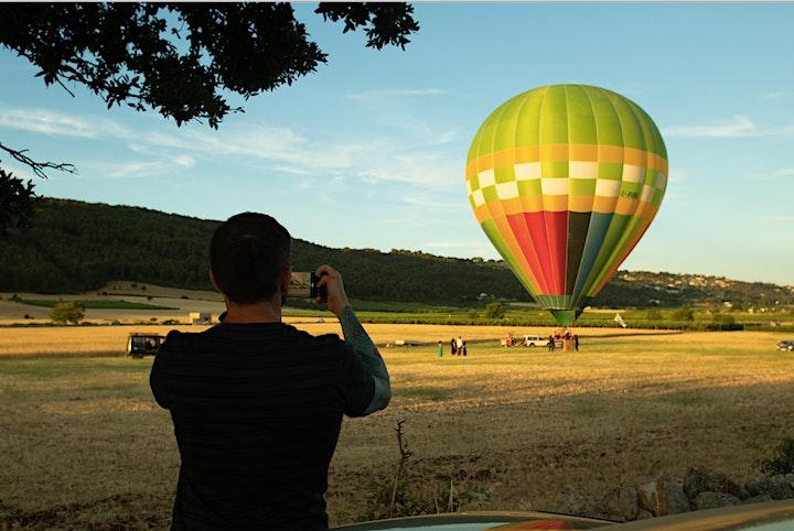 Volo In MONGOLFIERA + PICNIC / HOT AIR BALOON Flight + PICNIC image