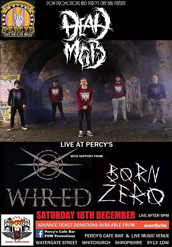 DEAD MOB with support from WIRED + BORN ZERO image