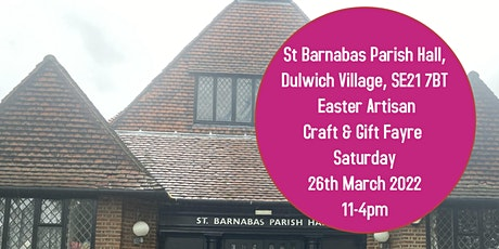 LK Christmas Artisan Craft and Easter Gift Fayre Dulwich Village tickets