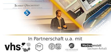 Seminar: Bloggen mit WordPress: Von Online-Shop bis Podcast(VHS Leipzig) Tickets