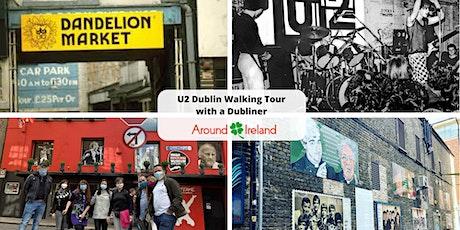 U2 Dublin Walking Tour August 21st tickets