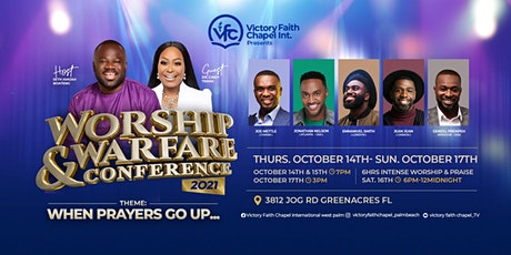 Worship and Warfare Conference 2021 tickets