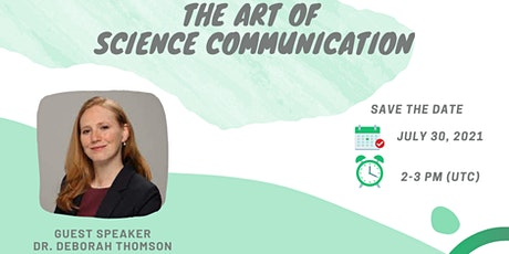 The Art of Science Communication tickets