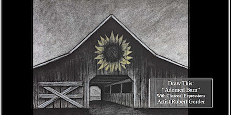 """Charcoal Drawing Event """"Adorned Barn"""" in Baraboo tickets"""