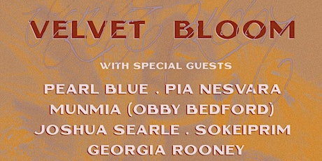 Velvet Bloom At Moonah Arts Collective tickets