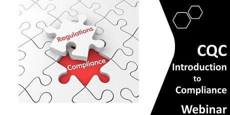 Care Quality Commission (CQC): Introduction to Compliance tickets