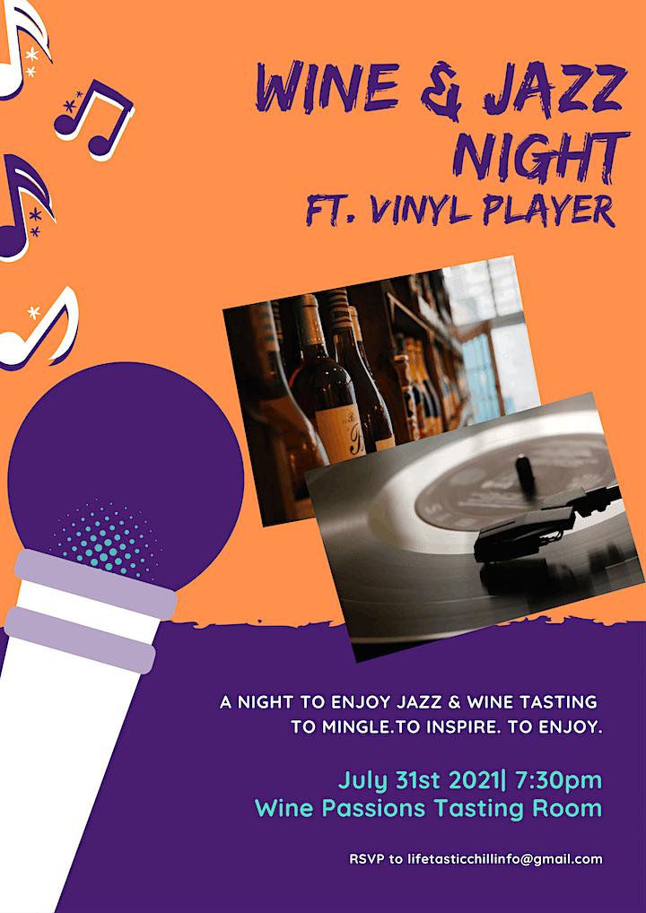 Jazz x Wine Networking Night image