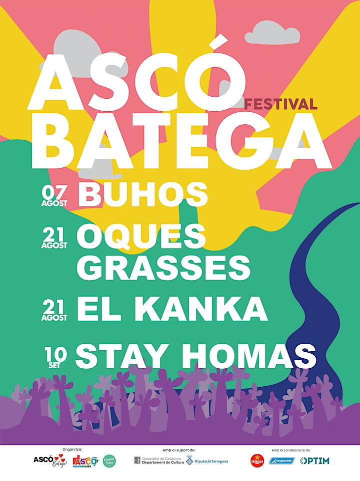 Imagen de Stay Homas   Festival Ascó Batega
