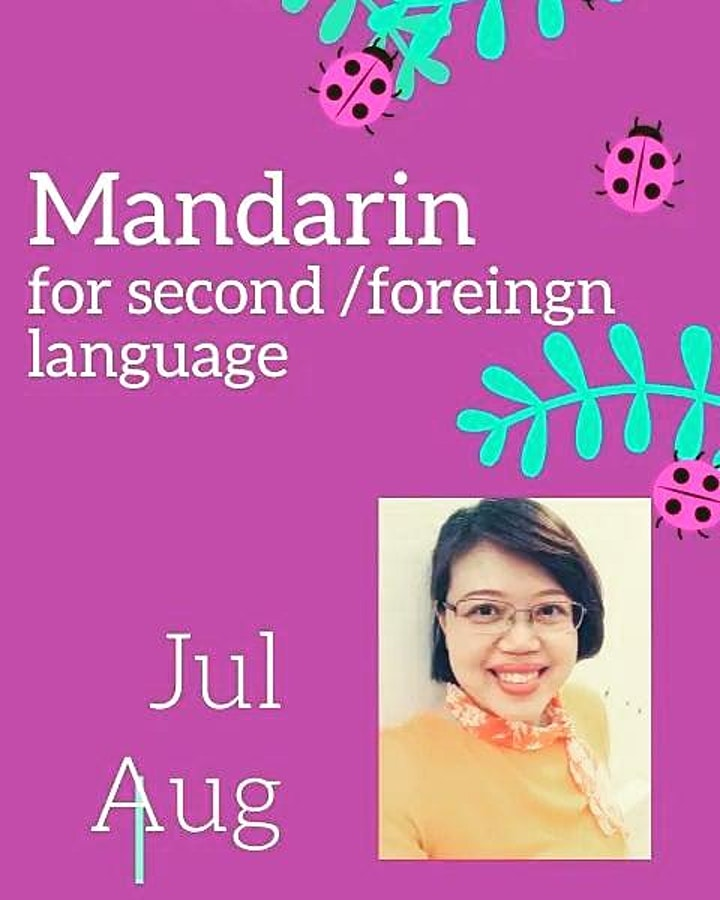 ONLINE Mandarin Conversation Class in ( 2021 JUL-AUG) Listening & Speakin image
