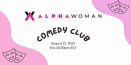 AlphaWoman CoMedy Club tickets