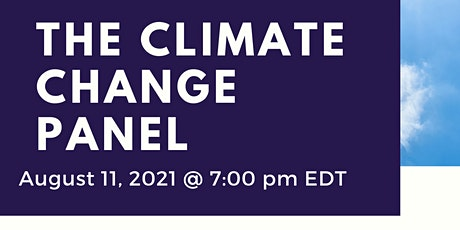 The Climate Change Panel tickets