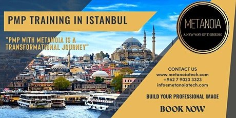 PMP in Istanbul with Metanoia Training and Consulting tickets