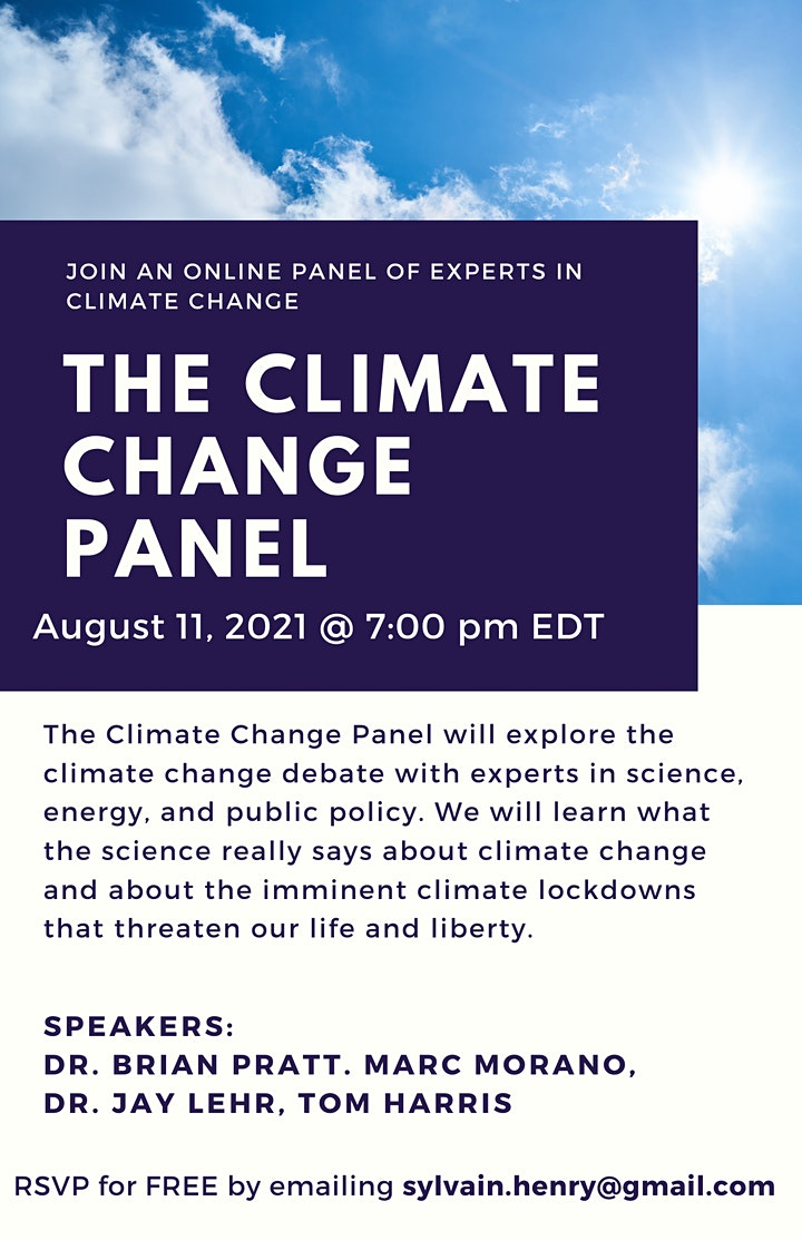 The Climate Change Panel image