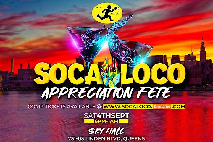 Soca Loco (Labor Day Saturday)