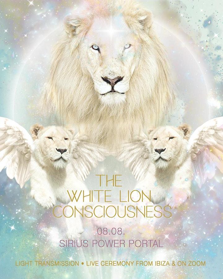 THE WHITE LION CONSCIOUSNESS & SIRIUS POWER PORTAL image