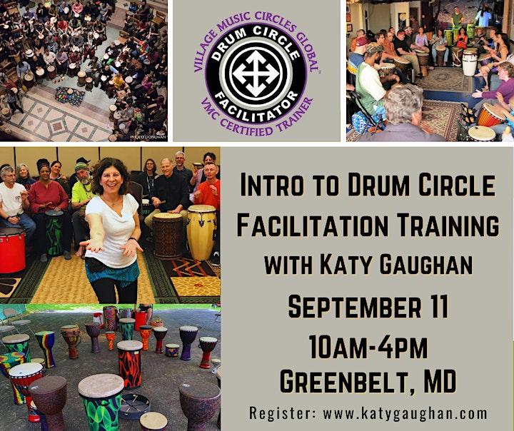 Intro to Drum Circle Facilitation Training image
