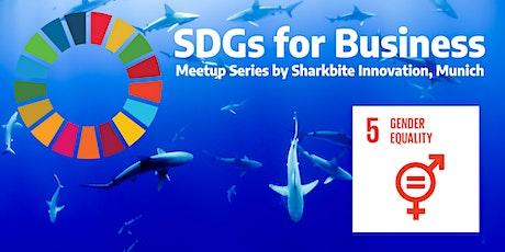 Nachhaltigkeit für Unternehmen: SDG#5 Gender Equal Tickets