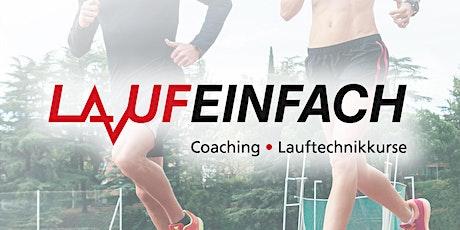 Lauftechnikseminar für Einsteiger und Fortgeschrittene in Gießen Tickets