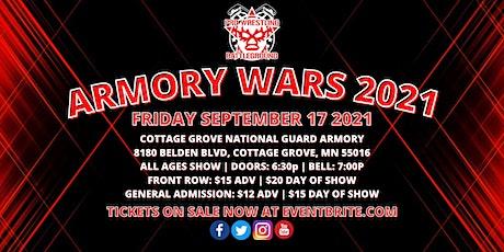 PRO WRESTLING BATTLEGROUND presents ARMORY WARS 2021 tickets