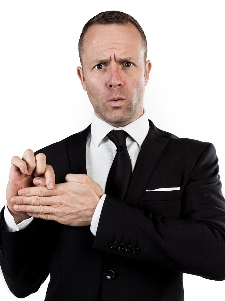 Ringsend Comedy Festival:16:30 Friday Family Friendly Jack Wise Magic Show! image