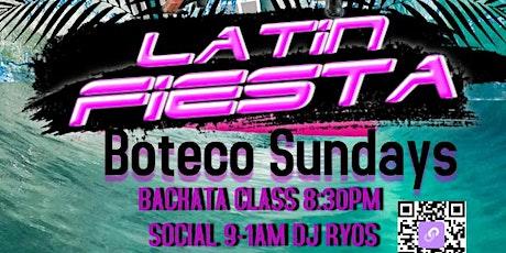 BOTECO LATIN FIESTA SUNDAYS, CLASS AND SOCIAL DANCE! tickets