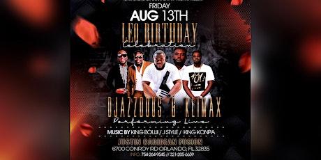 "Klimax X Djazz Dous ""A Leo Celebration"" Presented by VipFriday X ChercherG tickets"