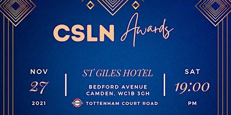 CSLN Awards Night 2021 tickets