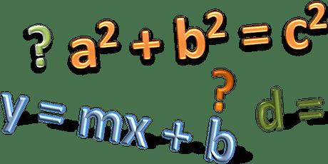 Pre-Algebra/Algebra CLINIC tickets