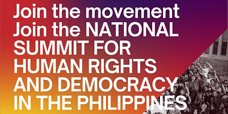 National Summit for Human Rights and Democracy in the Philippines tickets