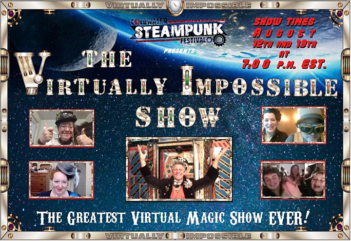 MAJINX's  VIRTUALLY IMPOSSIBLE SHOW: Special Coldwater Steampunk Edition image