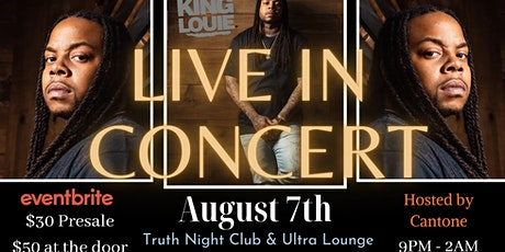 JMS Presents: King Louie LIVE! tickets