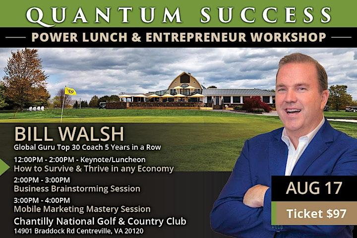Quantum Success Luncheon & Workshop-Washington DC image