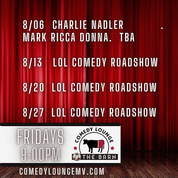 LOL Comedy Roadshow Comedy Lounge Martha's Vineyard image
