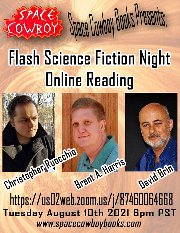 Online Event: Flash Science Fiction Night image