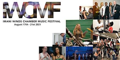 Imani Winds Chamber Music Festival 2021 Registration tickets