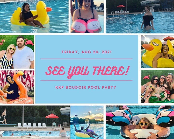 KKP Boudoir Pool Party image
