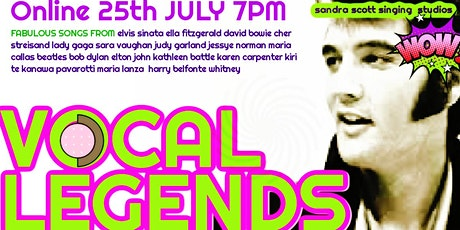 Vocal Legends - An Evening of Song Celebrating Sheer Vocal Fabulousness! tickets