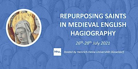 Repurposing Saints in Medieval Hagiography tickets