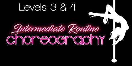 Monday 8/2--Levels 3 & 4 Intermediate/ advanced pole 7-8:30pm tickets
