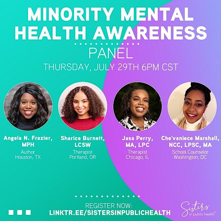 Minority Mental Health Awareness image