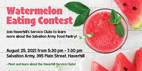 Haverhill Watermelon Eating Contest tickets