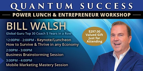 Quantum Success Luncheon & Workshop-Washington DC tickets