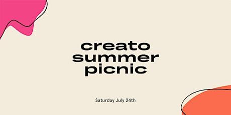 Creato Summer Picnic tickets