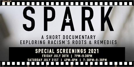 SPARK film screenings tickets