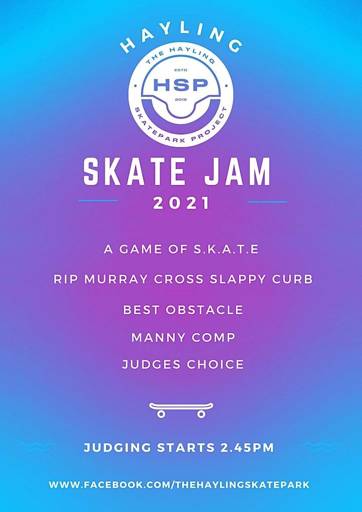 Hayling Skate Jam 2021 image
