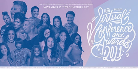Black Women in Media 2021 Conference + Awards tickets