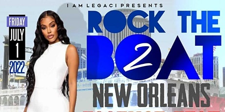 ROCK THE BOAT PT. 2 ALL WHITE BOAT RIDE PARTY | ESSENCE MUSIC FESTIVAL 2022 tickets